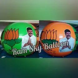 Advertising Balloon For Election