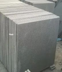 Flamed Green Fllamed Granite Slabs, Thickness: 15mm, Size: 30x30