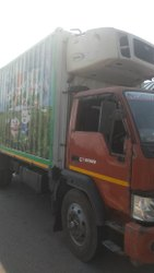 Truck Mounted Refrigerator Rental Service, For Food Storage