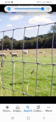White HDPE Grass Land Fence, For Garden