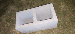 Concrete Rectangular Hollow Blocks, For Floor