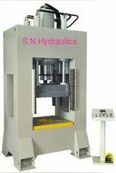 Hydraulics deep drawing press