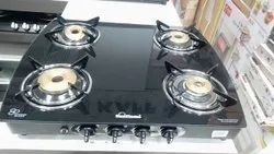 Sunflame 4 Gas Stove, Size: L*b (22
