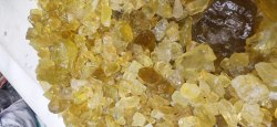 Lemon Quartz Rough stone