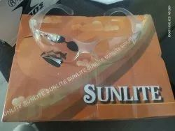 Polycarbonate Sun Lite White Safety Goggles, Frame Type: Plastic, CE ISI
