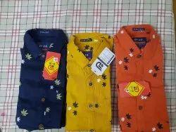 D-10 cotton Mens Shirt
