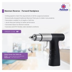 Manman Electric Reverse Forward Bone Drill Handpiece