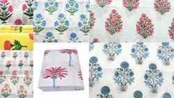 Mughal Hand Block Print Fabric