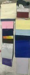 raymond cotton school dress fabric, Plain/Solids, Multicolour