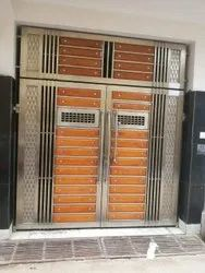 Decorative Stainless Steel Ss 304 Gate, For Home