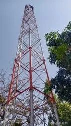 4 Legged Self Supporting Tower 36 mtr