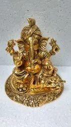 Aluminium Jodhpur Golden Metal .Ganesh, Packaging Type: Box, Size/ Dimension: About 12