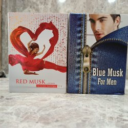 Men Floral BLUE MUSK Body Spray, Glass, Packaging Size: 100 Ml