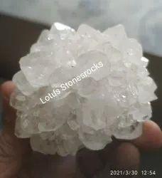Crystal Quartz Flower Shape