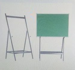 Magnetic Green Chalk Board With 4 Leg Stand