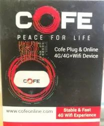 Wireless or Wi-Fi White Cofe 4g Wifi Dongle/Router With Sim Slot