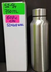 Stainless Steel Single Wall Fridge Water Bottle
