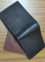 Tan Bi Fold Leather Wallet, Card Slots: 5