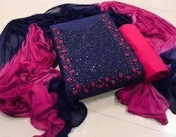 Handwork Dress Material