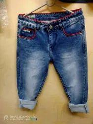 Comfort Fit Party Wear Heavy Jeans