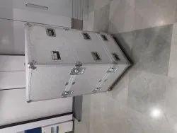 Aluminium big  flight case whith wheel