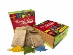 Holi Gulal And Color Gift Box