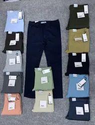 Chinos 20 colour 4 way lycra cotton pant, Waist Size: 28 30 32 34 36