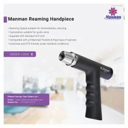 Steel MANMAN Cannulated Reamer Handpiece, For Hip Joint