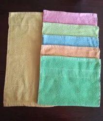 Plain 6 to 8 colours Napkin / Cotton Napkin, Size: 12*18 14 *21 16*24