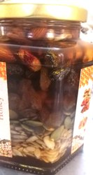 Honey Mixed Dry Fruit, Packaging Size: Glass Jar