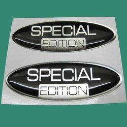 Transparent Polyurethane Dome Stickers, Packaging Type: Packet