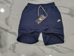 Knee Length Polyester Man's Short, D Pocket