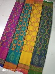 Ligalz Presents Brasso Saree With Blouse