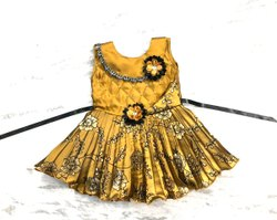 Golden Girl Kids Frock
