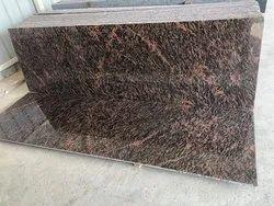 Polished Slab Tech rad granite, Thickness: 15-20 mm