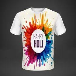 Royal Sports White Holi T Shirt