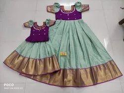 Mom And Kids Dresses