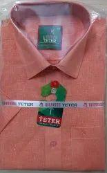 Cotton Plain Teter casual shirts