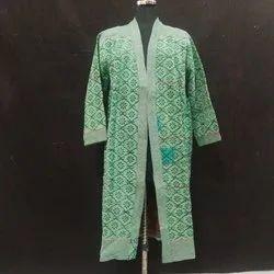 Handblock Printed Kantha Jackets