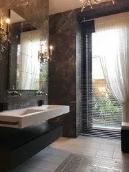 Ceramic Mosaic Gloss Digital Printed Bathroom Wall Tile, For Www.nirmanindia.org, Thickness: 5-10 mm