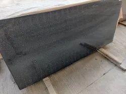 Rajasthan Galaxy Black Granite, Slab, Thickness: 15-20 mm
