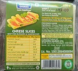 Modern dairies Type: Box Cheese Slice, Packaging Size: 200gm