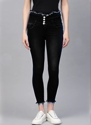 Slim Bottom Women Jeans