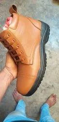 Brown Polish Leather Shoes
