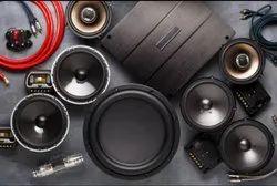Seat Cover Black Car Speakers