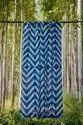 Tye Dye Shibori Printed Curtain