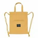 Gift Drawstring Cotton Tote Bag with String Custom Canvas Drowsting Backpacks