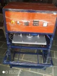 Single Phase Stainless Steel Scrubber Making Machine, 220v, Capacity: 1000 Card Per Day
