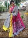 Khadi Cotton Temple Weaving Sarees