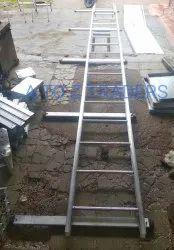 Roofing aluminium ladder